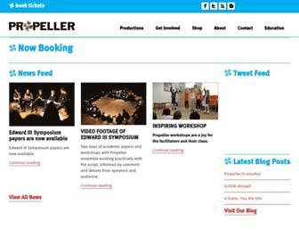 Thumbshot of Propeller.org.uk
