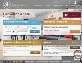 shbarcelona.es screenshot