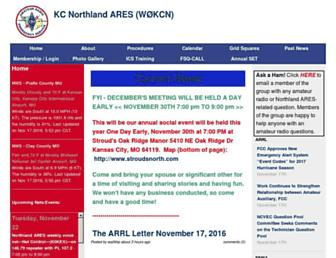 kcnorthares.org screenshot