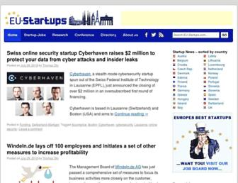 eu-startups.com screenshot