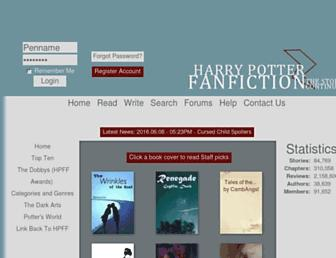 Thumbshot of Harrypotterfanfiction.com