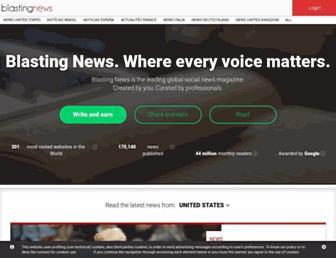 Thumbshot of Blastingnews.com