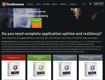 firedaemon.com screenshot
