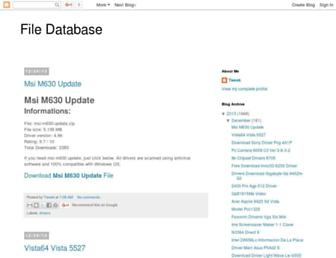 file-database.blogspot.com screenshot