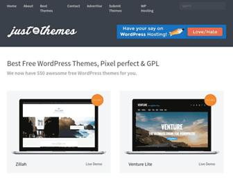 justfreethemes.com screenshot