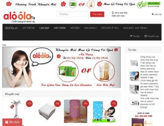 aloola.vn screenshot