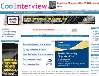 Thumbshot of Coolinterview.com