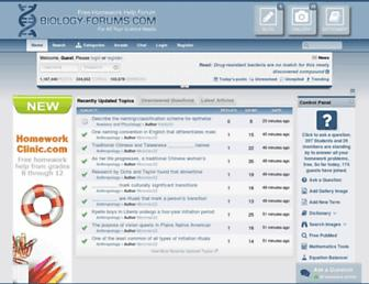 Thumbshot of Biology-forums.com