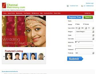 Thumbshot of Chennaimatrimony.com