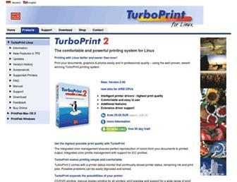 turboprint.info screenshot