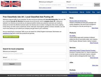 unitedkingdominbusiness.co.uk screenshot