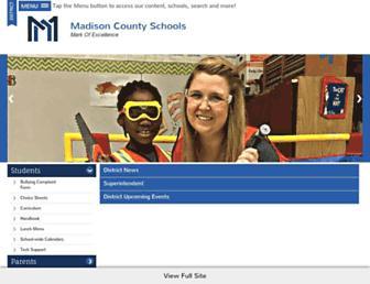 madison-schools.com screenshot