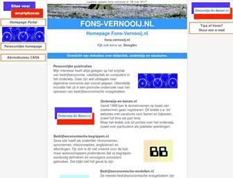 fons-vernooij.nl screenshot