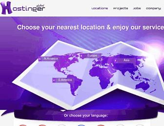 hostinger.com screenshot