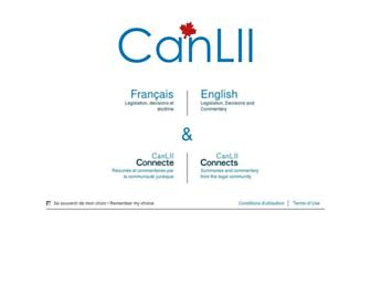 Thumbshot of Canlii.org