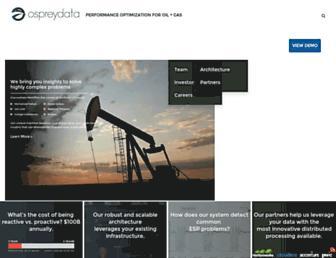 ospreydata.com screenshot