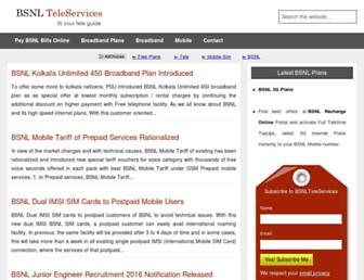 bsnlteleservices.com screenshot
