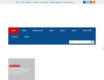 makassar.sindonews.com screenshot