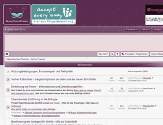 Main page screenshot of busenfreundinnen.net