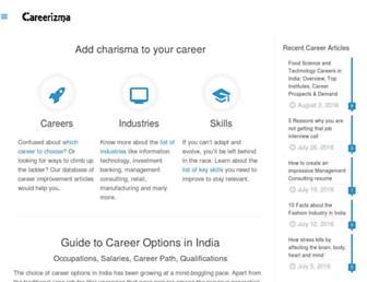 careerizma.com screenshot