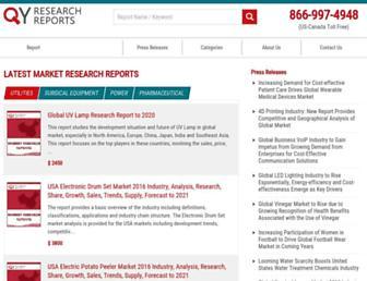 Thumbshot of Qyresearchreports.com