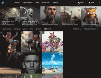 artstation.com screenshot
