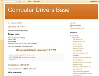 computer-driver-base.blogspot.com screenshot
