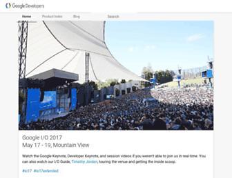 developers.google.cn screenshot