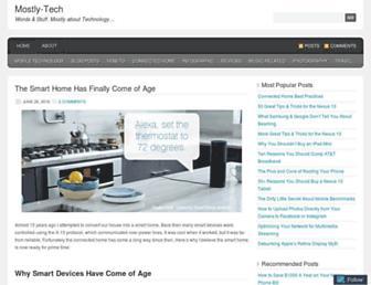 mostly-tech.com screenshot