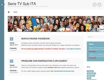 Thumbshot of Serietvsubita.net