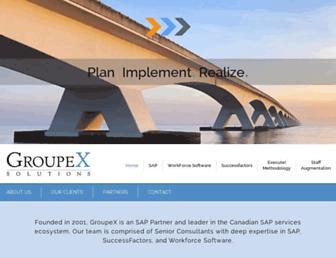 groupex-solutions.com screenshot