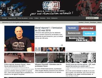 Thumbshot of Egaliteetreconciliation.fr