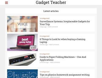 gadgetteacher.com screenshot