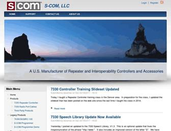 scomcontrollers.com screenshot