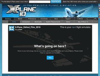 x-plane.com screenshot