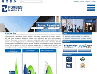 forbesmarshall.com screenshot