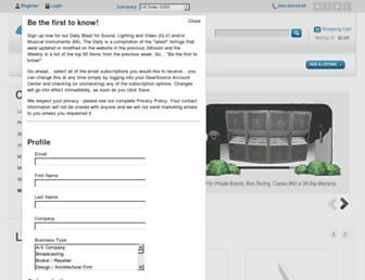 gearsource.com screenshot
