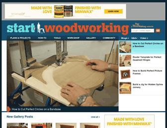 Thumbshot of Startwoodworking.com