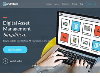 brandfolder.com screenshot
