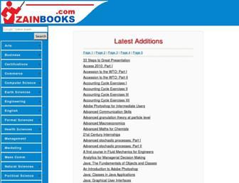 zainbooks.com screenshot