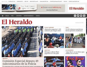 elheraldo.hn screenshot