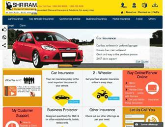 shriramgi.com screenshot