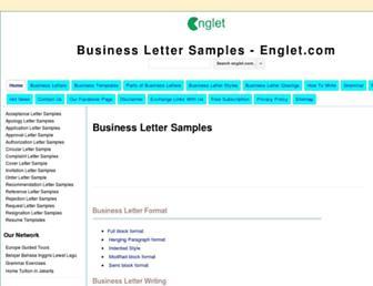 englet.com screenshot