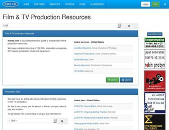 mandy.com screenshot