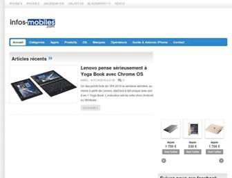 Thumbshot of Infos-mobiles.com