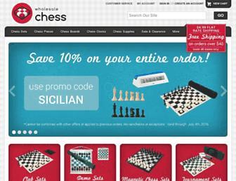 Thumbshot of Wholesalechess.com