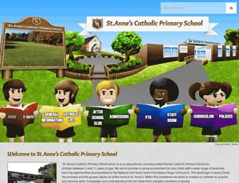st-annes.walsall.sch.uk screenshot
