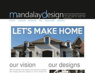 mandalay-design.com screenshot