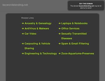 Thumbshot of Keywordslanding.net