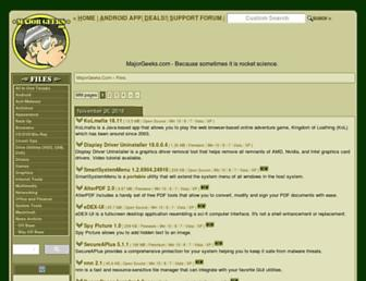 m.majorgeeks.com screenshot